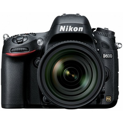 D600 24.3 MP CMOS FX-Format Digital SLR Camera With Nikon 24-85mm f/3.5-4.5G ED