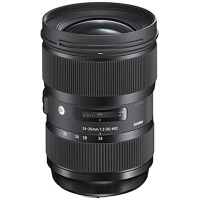 24-35mm F2 DG HSM Standard-Zoom Lens for Nikon Cameras