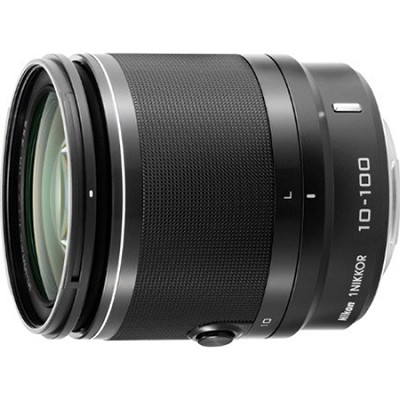 1 NIKKOR 10-100mm f/4.0-5.6 VR Lens - Black - FACTORY REFURBISHED
