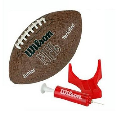 NFL MVP Recreational Football with Pump and Tee