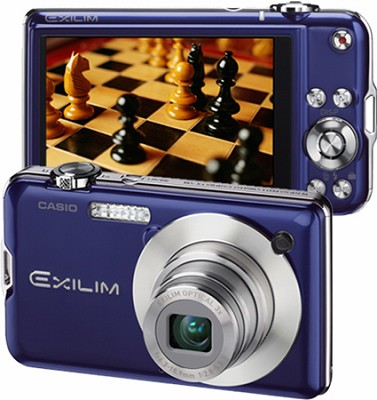 Exilim EX-S10 10.1MP Digital Camera with 2.7` LCD (Blue)