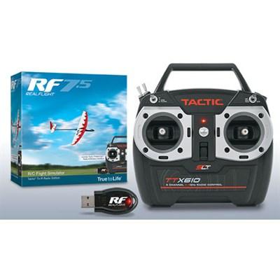 RealFlight 7.5 - Tactic TTX610 Radio Edition