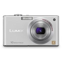 DMC-FX37W - Stylish Compact 10 Megapixel Digital Camera (White)