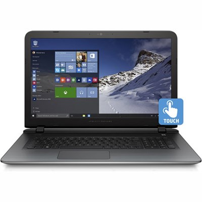 Pavilion 17-g120ds 17.3` Touch AMD A8-7410 Quad-core Notebook - REFURBISHED