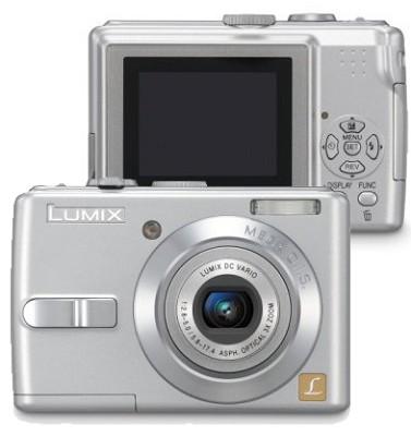 DMC-LS70S (Silver) Lumix 7.2 Megapixel Compact Digital Camera