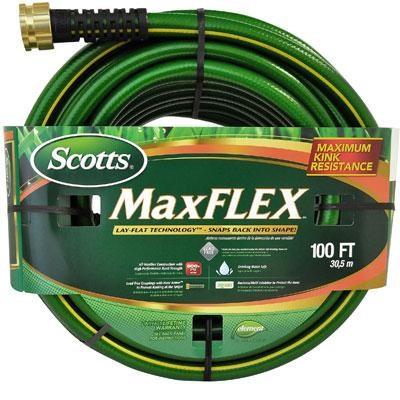Scott's 100' MaxFlex Premium Heavy Duty Garden Hose - CSMF58100CC