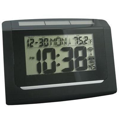 Solar Atomic Wall Clock - 65906