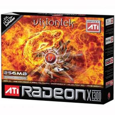 RADEON X1300 256MB PCIE SFF LP DUAL LINK DVI-I/VGA/TV-OUT 250W REQ
