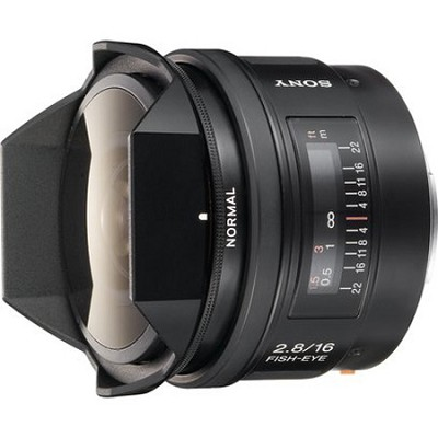 SAL16F28 - 16mm f2.8 Fisheye Lens - OPEN BOX