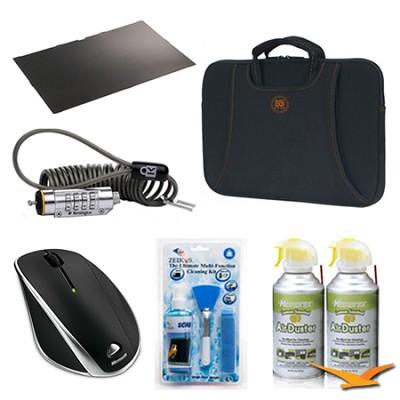 15.6` Notebook Essentials and SafeGuard Bundle