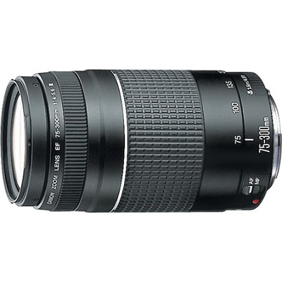 EF 75-300mm  F4-5.6 III Lens - OPEN BOX
