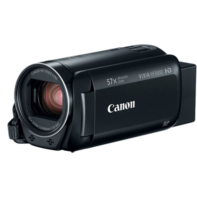VIXIA HF R800 Camcorder w/ 57x Advanced Zoom 3.28MP - Black