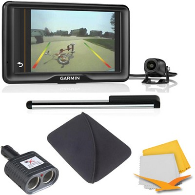 nuvi 2798LMTwith Lifetime Maps, Traffic and Backup Camera Essentials Bundle