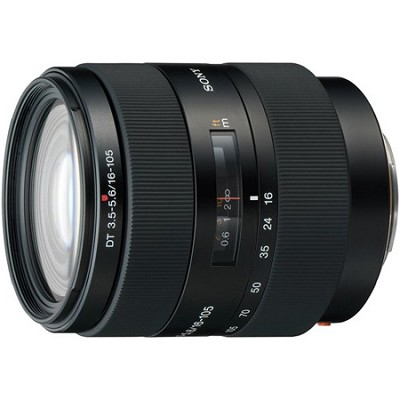 SAL16105 - 16-105mm f/3.5-5.6 Wide-Range Zoom A-Mount Lens