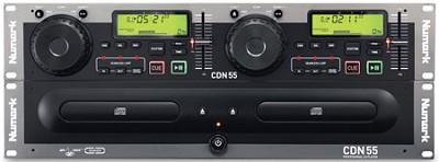CDN55 Rack-Mount Professional Dual CD Player