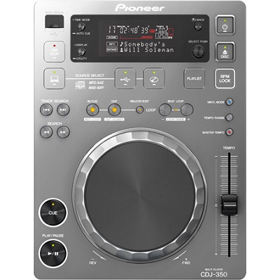 CDJ-350-S Digital Multi-Media Player (Metallic Silver)