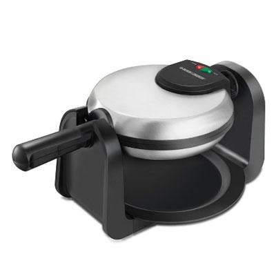 Rotary Waffle Maker in Black and Stainless Steel - WM1404S