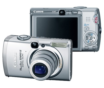 Powershot SD850 IS Digital ELPH Camera (Refurbished)
