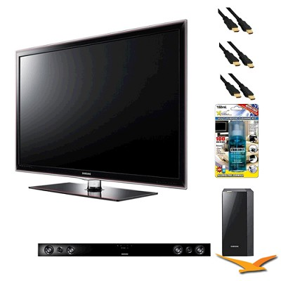 UN46D6000 46 inch 1080p 120hz LED HDTV with HW-D550 - Home Theater Bundle