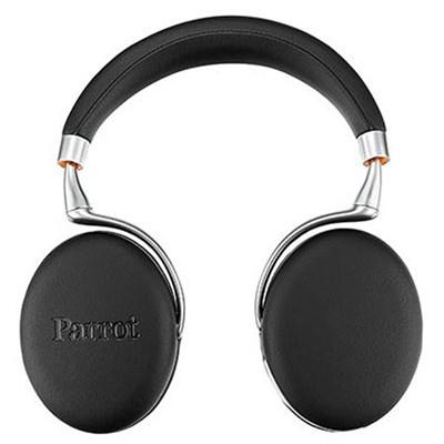 Zik 3 Bluetooth Headphones w/ Wireless Charger (Black Leather-Grain) - OPEN BOX
