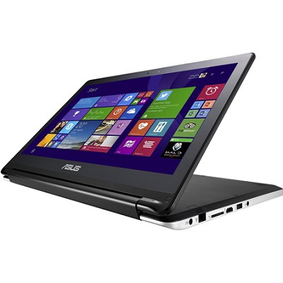 Flip TP500LA-DH51T 15.6 Inch Intel Core i5-4210U Touchscreen Laptop (Black)