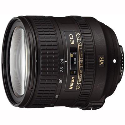 AF-S NIKKOR 24-85mm f/3.5-4.5G ED VR Lens - 2204 - FACTORY REFURBISHED
