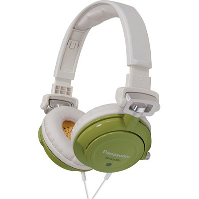 RP-DJS400-G DJ Street Model Headphones (Green)