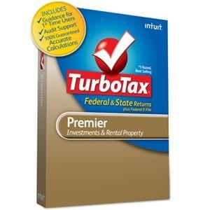 TurboTax Premier Federal + e-File + State 2010