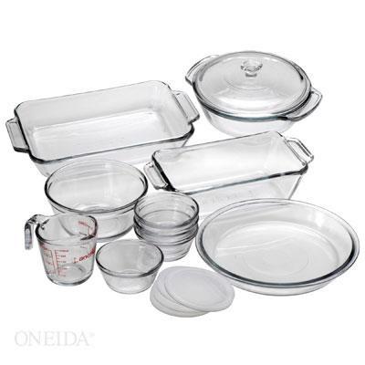 Oven Basics 15-Piece Glass Bakeware Set - 82210OBL11