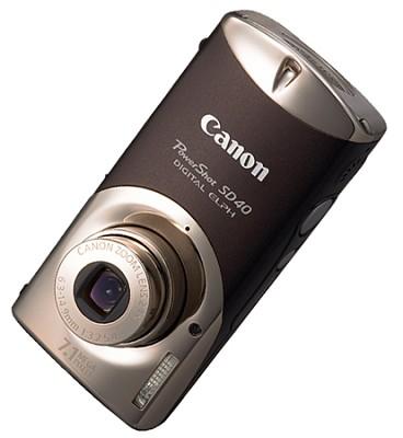 Powershot SD40 Digital Camera (Sepia)
