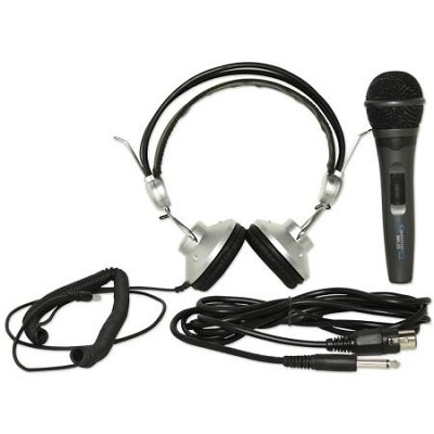 Microphone & Headphone Stage and Studio Kit