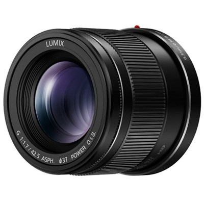LUMIX G Lens 42.5mm F1.7 ASPH Mirrorless Micro Four Thirds, H-HS043K