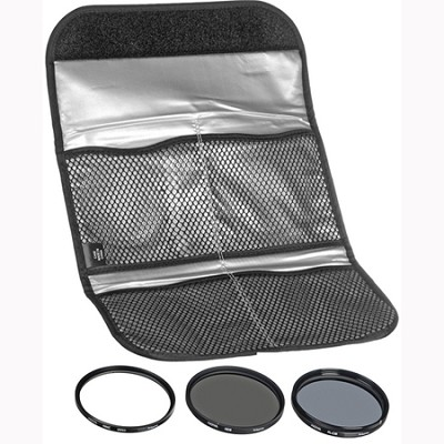 43mm Digital Filter Kit With UV, Circular Polarizer, NDX8 - HK-DG43