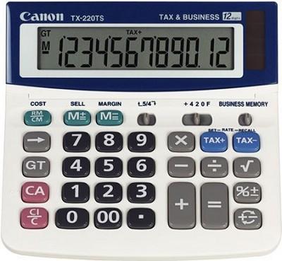 TX-220TS Calculator