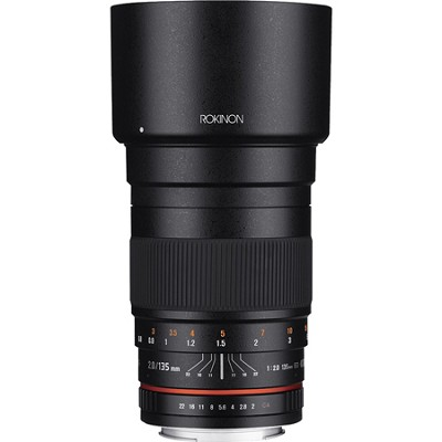 135mm F2.0 ED UMC Telephoto Lens for Canon DSLR