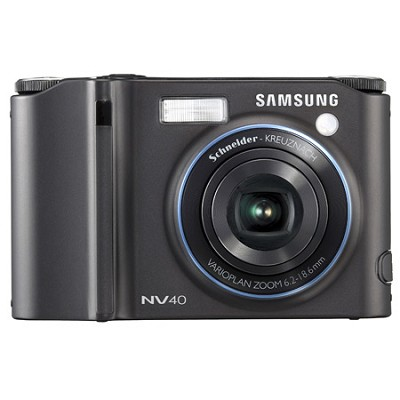 NV40 10MP 2.5` LCD Digital Camera (Black)