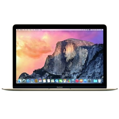 Macbook 12` 256GB SSD 8GB Retina Display Laptop - Gold (Brown Box)