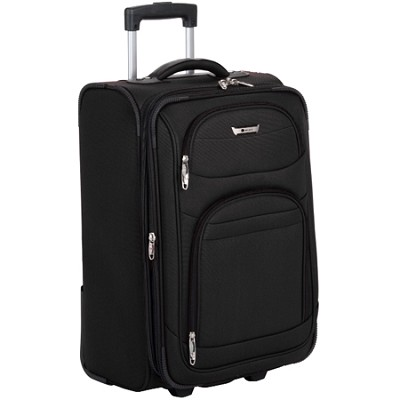 Helium Quantum Carry-On Expandable Trolley (Black) - 27774BK