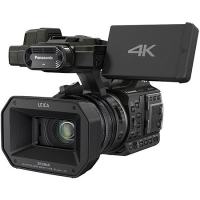 HC-X1000 4K 24p Cinema 60p Black Video Camcorder