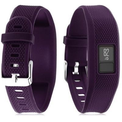 Silicone Replacement Wrist Band Strap For Garmin Vivofit 3 - Purple