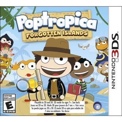 Poptropica Forgotten Isl 3DS
