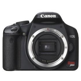 EOS Digital Rebel XSi Body 12MP (Black)REFURBISHED - Lens Not Included