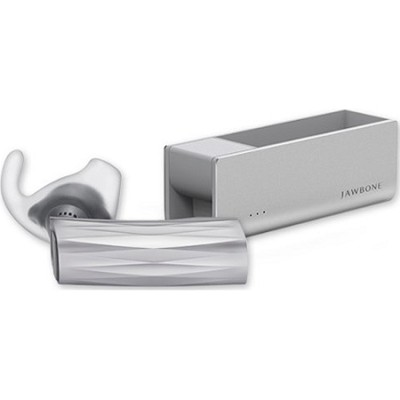 New ERA Silver Cross Bluetooth Headset w/Charge Case - JC03-01-US