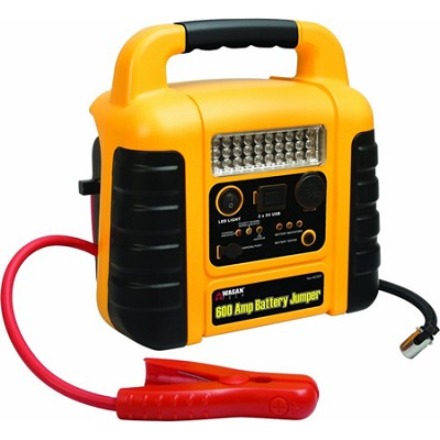 600 Amps Battery Jumper II with Air Compressor (2509)
