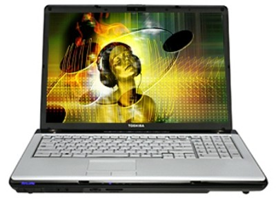 Satellite P205-S7806 17` Notebook PC (PSPB3U-0QU00L)