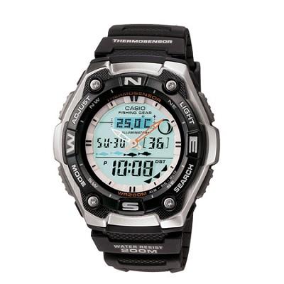 Men's AQW101-1AVCF Active Dial Multi-Task Gear Sport Watch