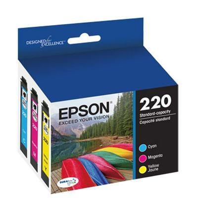 DURABrite Ultra Standard Capacity Color Combo Ink Cartridge - T220520