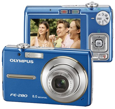FE-280 Digital Camera (Blue)
