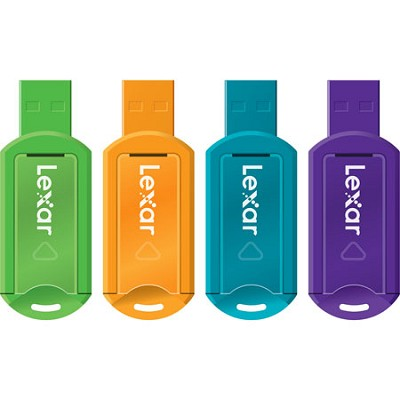 8GB V20 JumpDrive Assorted Colors 4-Pack