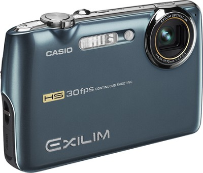 Exilim FS10 9MP 2.5` LCD Digital Camera (Metallic Blue)